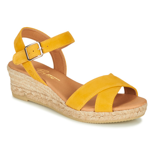 Chaussures Femme Sandales et Nu-pieds Betty London GIORGIA Jaune