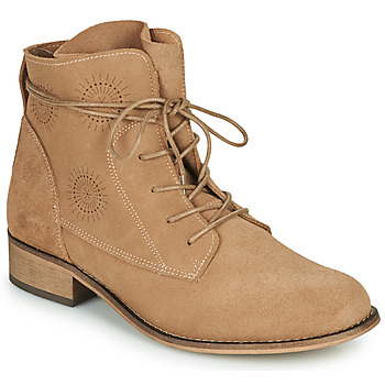 Chaussures Femme Boots Betty London MARILU Beige
