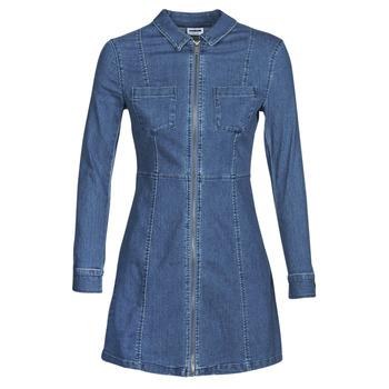 Vêtements Femme Robes courtes Noisy May NMLISA Bleu medium