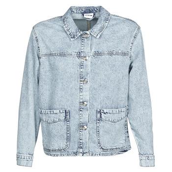 Vêtements Femme Vestes / Blazers Noisy May NMMELODIE Bleu clair