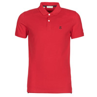 Vêtements Homme Polos manches courtes Selected SLHARO Rouge