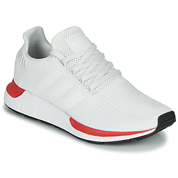 Chaussures Homme Baskets basses adidas Originals SWIFT RUN Blanc / Rouge