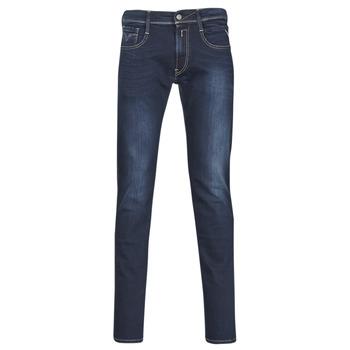 Vêtements Homme Jeans slim Replay ANBASS Bleu Foncé