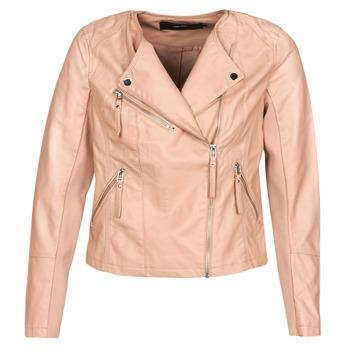 Vêtements Femme Vestes en cuir / synthétiques Vero Moda VMRIA FAV Rose