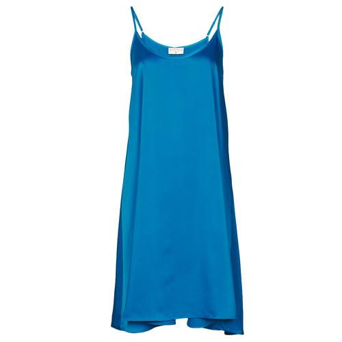 Vêtements Femme Robes courtes Moony Mood MOLETTE Bleu