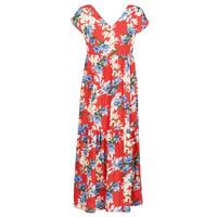 Vêtements Femme Robes longues Betty London MALIN Rouge / Blanc / Bleu