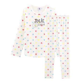 Vêtements Fille Pyjamas / Chemises de nuit Petit Bateau FIONA Multicolore