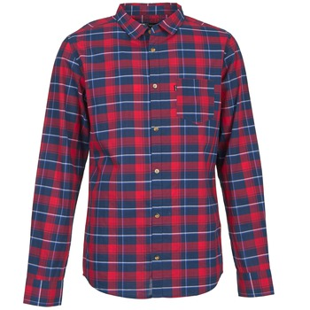Vêtements Homme Chemises manches longues Rip Curl CONNECTION Rouge / Bleu