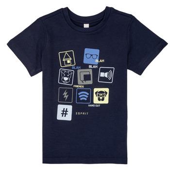 Vêtements Garçon T-shirts manches courtes Esprit ENZIEO Marine