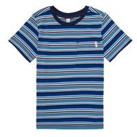 Vêtements Garçon T-shirts manches courtes Esprit ERNEST Bleu