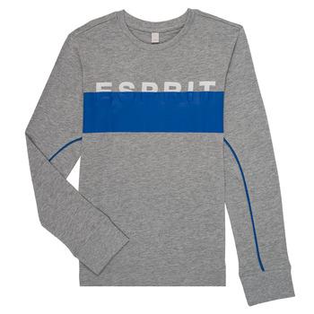 Vêtements Garçon T-shirts manches longues Esprit FABIOLA Gris