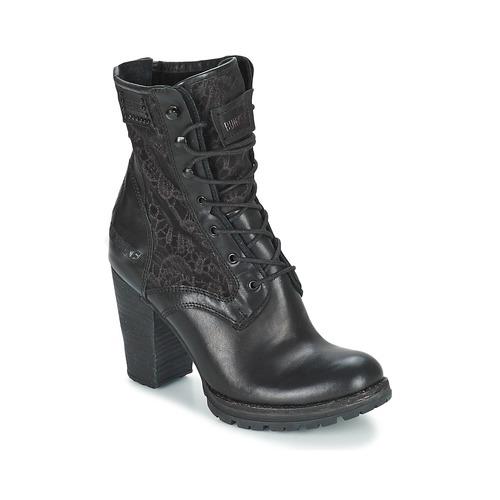 Chaussures Femme Bottines Bunker ACE MEGA Noir