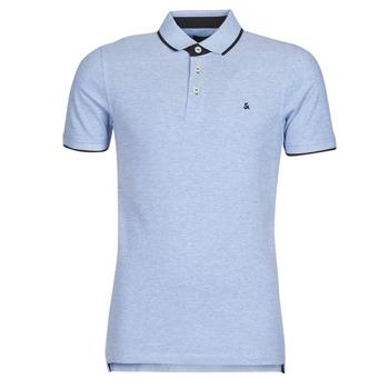 Vêtements Homme Polos manches courtes Jack & Jones JJEPAULOS Bleu