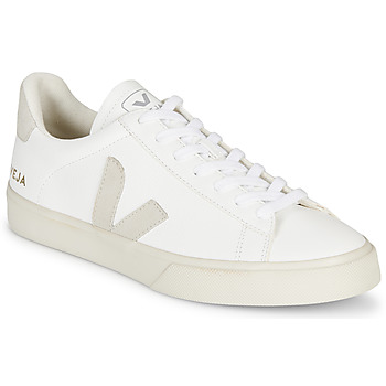 Chaussures Baskets basses Veja CAMPO Blanc / Gris