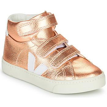 Chaussures Fille Baskets montantes Veja SMALL-ESPLAR-MID Rosé