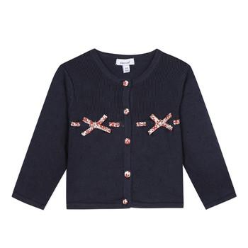 Vêtements Fille Gilets / Cardigans Absorba NOLI Marine