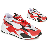 Chaussures Baskets basses Puma RS-X3 Rouge / Blanc