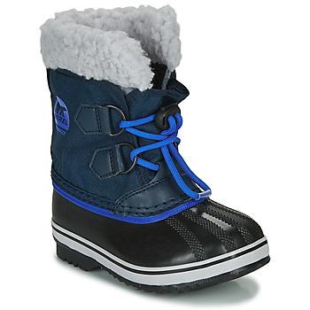Chaussures Enfant Bottes de neige Sorel CHILDRENS YOOT PAC NYLON Bleu