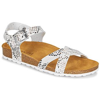 Chaussures Femme Sandales et Nu-pieds André REFLEXE Blanc