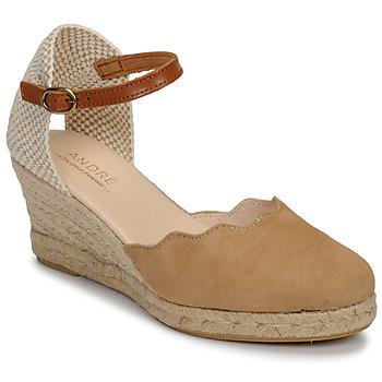 Chaussures Femme Sandales et Nu-pieds André BABI Taupe