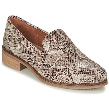 Chaussures Femme Mocassins André BABOUA Beige