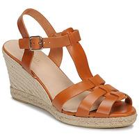 Chaussures Femme Sandales et Nu-pieds André BABORD Cognac