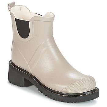 Chaussures Femme Bottes de pluie Ilse Jacobsen RUB47 Ocre