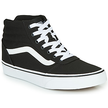 Chaussures Femme Baskets montantes Vans WARD HI Noir