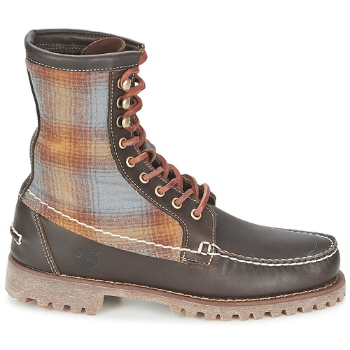 Timberland AUTHENTICS 8 IN RUGGED HANDSEWN F/L BOOT Marron foncé / Feutre