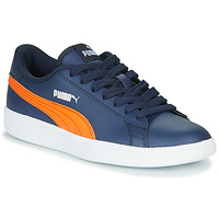 Chaussures Enfant Baskets basses Puma SMASH JR ME Marine