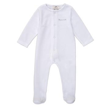 Vêtements Enfant Pyjamas / Chemises de nuit Cyrillus ERASMO Blanc