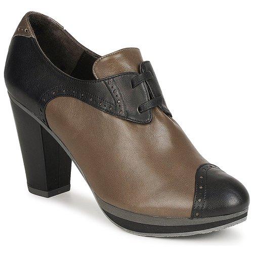 Chaussures Femme Low boots Audley GETA LACE Marron