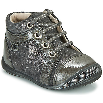 Chaussures Fille Boots GBB OMANE Gris