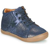 Chaussures Fille Boots GBB DUANA Bleu
