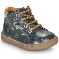 Chaussures Fille Boots GBB FAMIA Bleu / Doré