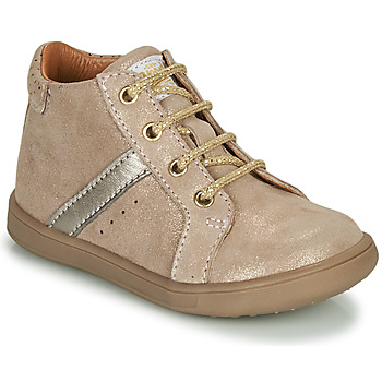 Chaussures Fille Boots GBB AGLAE Beige