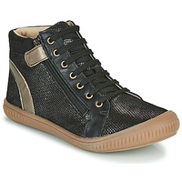 Chaussures Fille Baskets montantes GBB RACHIDA Noir