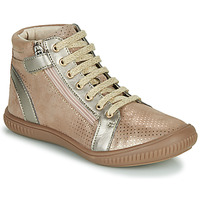 Chaussures Fille Baskets montantes GBB RACHIDA Beige