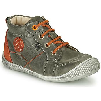 Chaussures Garçon Boots GBB OLAN Gris