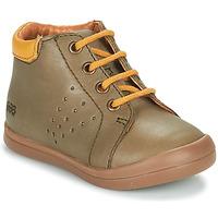 Chaussures Garçon Baskets montantes GBB TIDO Vert