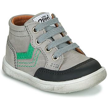 Chaussures Garçon Baskets montantes GBB VIGO Gris
