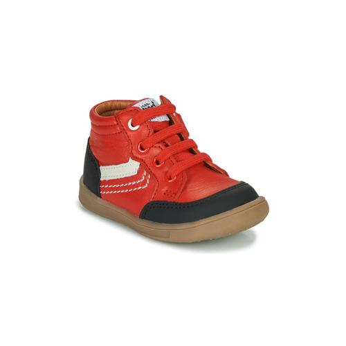 Chaussures Garçon Baskets montantes GBB VIGO Rouge