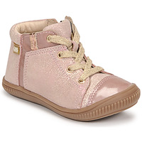 Chaussures Fille Baskets montantes GBB OUNA Rose