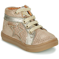 Chaussures Fille Baskets montantes GBB NAVETTE Beige