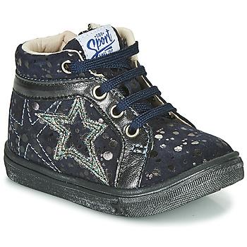 Chaussures Fille Baskets montantes GBB NAVETTE Bleu