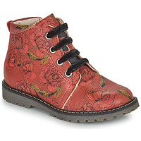 Chaussures Fille Boots GBB NAREA Rouge