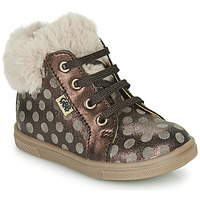 Chaussures Fille Baskets montantes GBB JUNA Marron