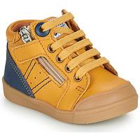 Chaussures Garçon Baskets montantes GBB ANATOLE Jaune