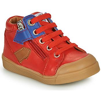 Chaussures Garçon Baskets montantes GBB IONNIS Rouge