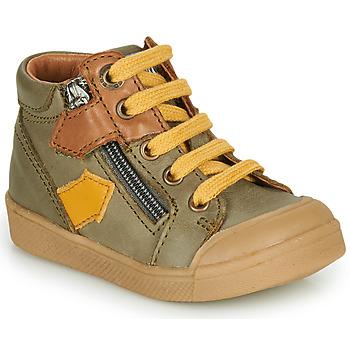 Chaussures Garçon Baskets montantes GBB IONNIS Vert